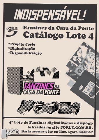 Catálogo Fanzines da Casa da Ponte - Lote 4