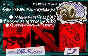 STT3 Feliz 2017 - Programa 5inco - Quadrinho - Hardcore - Punkrock - Entrevista