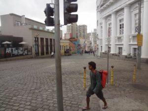 """Largo Lovaca - Ensaio de imagens digitais de Curitiba: """"Janela da Direita"""". Ricardo GosWod, 2017"""