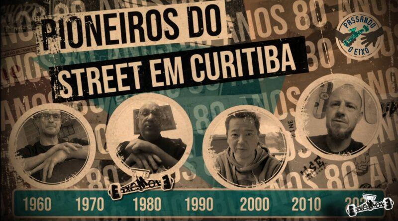 Eixo Mole Skate Zine #3 Pioneiros do street em Curitiba